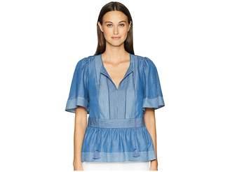 Kate Spade Railroad Top Women's Clothing