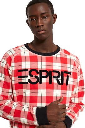 Opening Ceremony Esprit By Printed Brushed Back Fleece Pullover