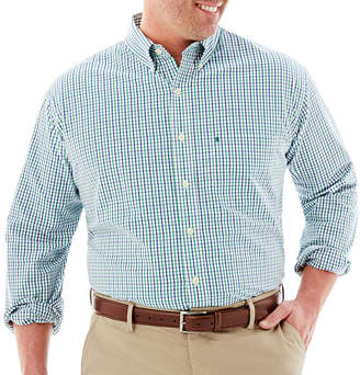Izod Essential Woven Shirt-Big & Tall