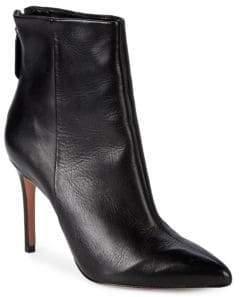 Schutz Classic Leather Booties