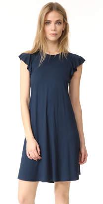 Three Dots Easy Flounce Dress $110 thestylecure.com