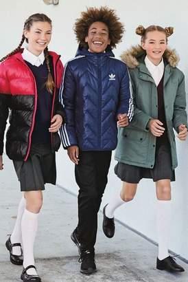 Next Boys adidas Originals Navy Trefoil 3 Stripe Jacket