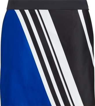 Ralph Lauren Striped Sateen Golf Skort