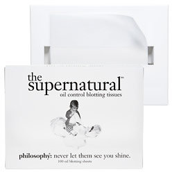 Philosophy The Supernatural Oil Control Blotting Papers