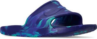 Nike Men's Kawa Shower Marble Slide Sandals