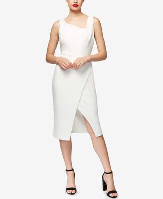 Betsey Johnson Asymmetrical Sheath Dress