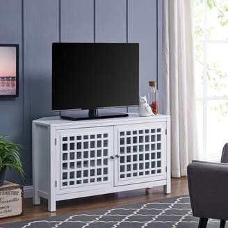 "Highland Dunes Chitrigemath Corner TV Stand for TVs up to 40"" Highland Dunes"