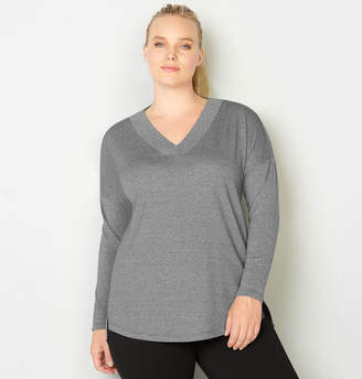 Avenue Heather Grey Sweatshirt