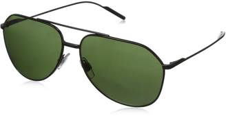 Dolce & Gabbana Men's Metal Man Aviator Sunglasses