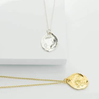 Deborah Blyth Jewellery Personalised Oval Thea Pendant