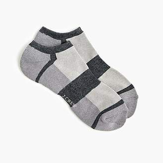 J.Crew Performance athletic colorblock ankle socks