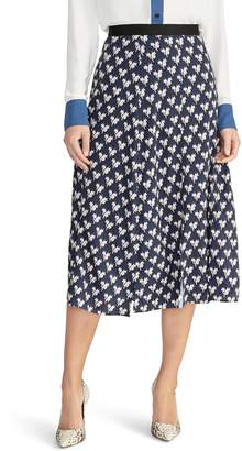 Rachel Roy Collection Lovebird A-Line Skirt