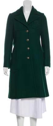 Gucci Cashmere Knee-Length Coat