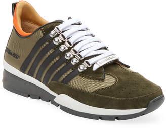 DSQUARED2 Tessuto Tecnico Gommato Sneaker