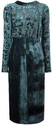 Lanvin (ランバン) - Lanvin ベルベット イブニングドレス