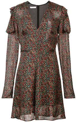Philosophy di Lorenzo Serafini v-neck floral dress