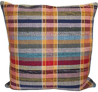 One Kings Lane Vintage Colorful Pillow