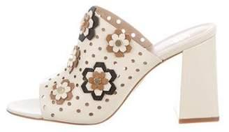 Zac Posen Fren Leather Sandals