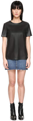 Mackage Tatiana Leather Tunic Shirt