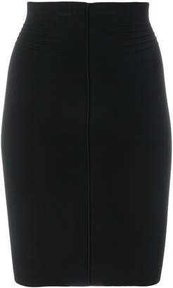 raised seam pencil skirt