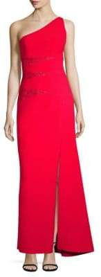 BCBGMAXAZRIA Dawson One-Shoulder Gown