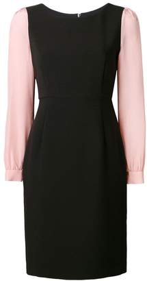 Emporio Armani fitted cady dress