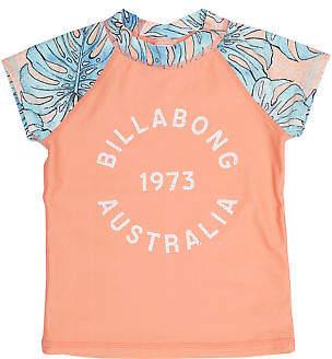 Billabong New Girls Toddler Girls Le Palma Rash Vest