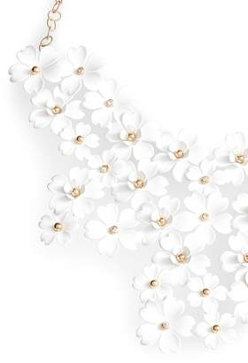 Serefina Cherry Blossom Statement Necklace