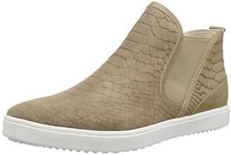 Daniel Hechter Women's HJ653331G Unlined Slip-on Boots Short Length Brown Size: