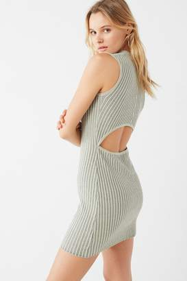 Urban Outfitters Bodycon Ribbed Sweater Dress