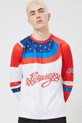 Forever 21 USA Racing Graphic Jersey