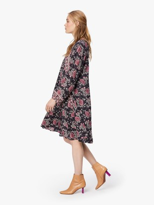 Natalie Martin Fiore Short Rayon Dress - Vintage Flowers