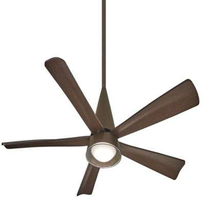 Minka Aire Minka-Aire Cone 54-Inch LED Single-Light Ceiling Fan in Bronze