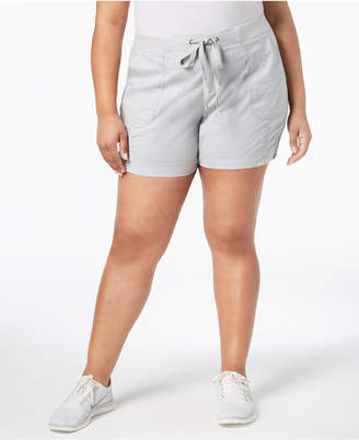 Style&Co. Style & Co Plus Size Comfort-Waist Shorts, Created for Macy's