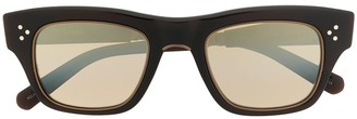 Garrett Leight light tinted sunglasses