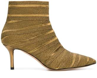 very cheap sale online Casadei striped ankle boots release dates cheap price with paypal cheap price wide range of online blksX5