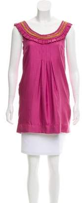 Yoana Baraschi Sleeveless Silk Tunic