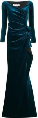 Chiara Boni Le Petite Robe Di velvet evening dress