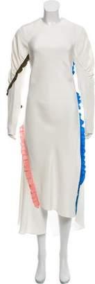 Tibi Silk Maxi Dress w/ Tags