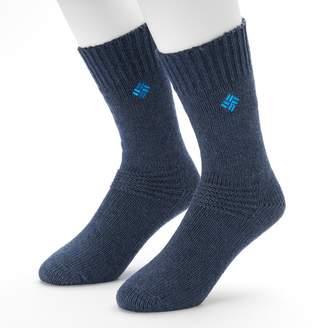 Columbia Men's 2-pack Brushed Fleece Crew Socks