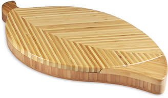 Picnic Time Leaf Cheese Board & Tools Set