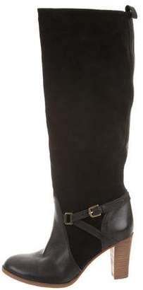 Comptoir des Cotonniers Suede Knee-High Boots
