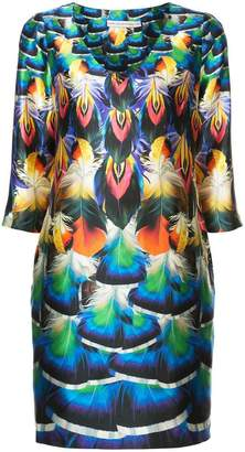 Mary Katrantzou faille print Shea dress