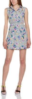 Lovestruck Women's Luann Tea Floral Sleeveless Dress