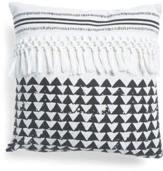 8x18 Ruth Triangles Pillow