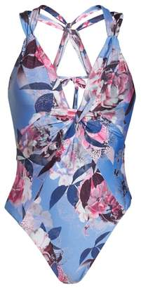 Becca Orchid Bloom One-Piece Swimsuit