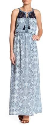 DR2 by Daniel Rainn Printed Maxi Dress (Petite) $88 thestylecure.com