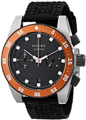 Electric Men's EW0070020036 DW02 Nato Band Analog Display Japanese Quartz Black Watch