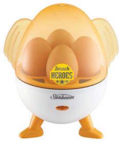 Sunbeam NEW Snack Heroes Egg Cooker EC4000 White