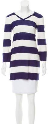 Alice + Olivia Hooded Striped Sweater